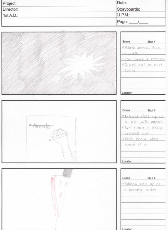 Mock UpS Story Board Animatic And Magazine Poster Drafts